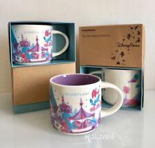 Disney Disneyland Fantasyland Starbucks Mug 14 oz You Are Here Collection Cup