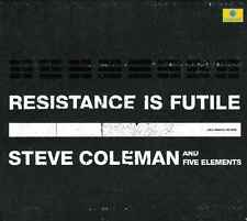 STEVE COLEMAN AND FIVE ELEMENTS  resistance is futile / 2 CD DIGIPACK