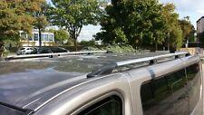 OPEL VIVARO RENAULT TRAFIC NISSAN PRIMASTAR L1 2014> rails de toit en chrome