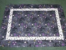 **NIGHTMARE BEFORE CHRISTMAS**handmade baby blanket/crib/tummy time/car seat
