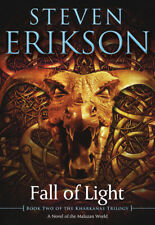 The Kharkanas Novel #2: Fall of Light by Steven Erikson (2018, Trade Paperback)