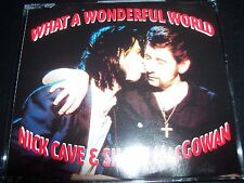 Nick Cave & Shane MacGowan What a Wonderful World Aust CD Single