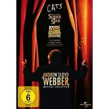 ANDREW LLOYD WEBBER-MUSICAL COLLECTION 4 DVD NEU ELAINE PAIGE,SIR JOHN MILLS