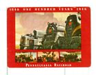 """Single Vintage Railroad Wide Playing Card """"Pennsyvania RR"""" PPR 23a,1946"""