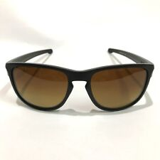 Oakley Sunglasses * Sliver R 9342-06 Matte Black Brown Gradient Polarized