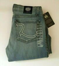Rock & Republic Roth Flare Jeans Sz 24 Classic Rock Boycott Show Blue NWT