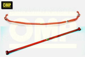 OMP FRONT & REAR STRUT BRACE HONDA CIVIC TYPE-S 1.8