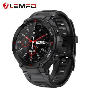 LEMFO K22 Smart Watch Bluetooth Call Men Sport Fitness Bracelet Health Monitor