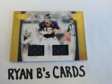 TIM TEBOW 2011 Panini Plates and Patches NFL Equipment Combos #34/50 GAME WORN!!
