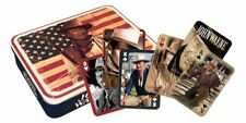 John Wayne Flag Playing Card Gift Tin