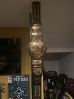 WWF Bret Hart Shawn Michaels HBK Signed Autographed Winged Eagle Belt Title WWE