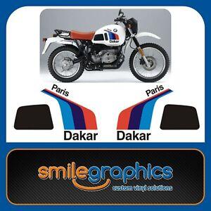 BMW R80 GS PD R100 GS PD Paris Dakar 1988 Onwards -Tank Decals Stickers Graphics