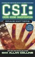 Max Allan Collins. CSI. Grave Matters(2004). Thriller. Mystery. Crime. CSI