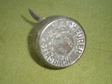 ancienne Sonnette vintage vélo cycle A.Scheurer Petersbach France Bicycle bell