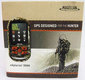 NEW Magellan eXplorist HUNT 350H Handheld GPS USA Canada Maps Water Resistant