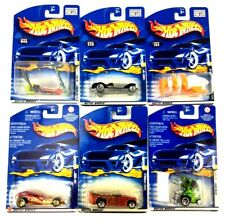 Mixed Lot of 6 Hot Wheels Collectible Mattel Toys Age 3+ NEW Factory Sealed