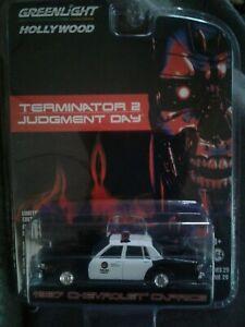 Terminator  2 1997 Chevrolet Caprice 1/64 greenlight.