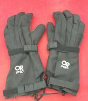 ONE PAIR OUTDOOR RESEARCH GORE-TEX Taped Modular Mittens Black Shell Size Large
