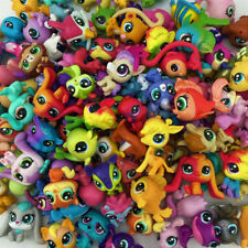 random 20Pcs Littlest Petshop Lot Animal dog cat Mini Hasbro Figure jouet don