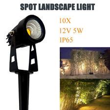 10X Spot Light Floodlight LED 12V 5W for Garden Landscape Waterproof Pond Lawn