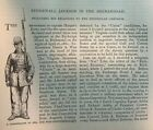 1885 Stonewall Jackson int the Shenandoah Battle of Gaines's Mill Civil War