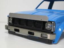 Custom Aluminum Front Hood Bug deflector shield for Tamiya 1/10 Toyota Bruiser