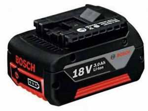 Bosch Akku GBA 18 Volt  3,0 AH  LI passend für Bosch Professional (blaue Serie)