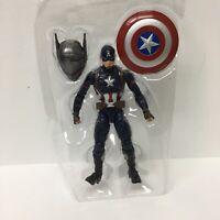 Marvel Legends Civil War Captain America with BAF Giant Man LOOSE