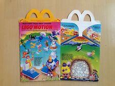 1989 McDonald's Happy Meal Box, Lego Motion