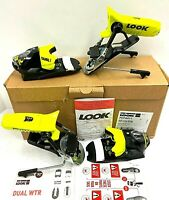 $329 Look Pivot 14 Dual WTR B95 Ski Bindings NIB Alpine  FCFA011 Yellow Blk