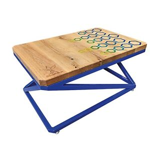 Epoxy Resin Table Coffee Dining Hand-crafted Oak table Home table furniture
