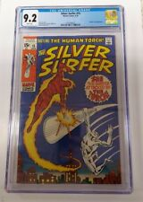 Silver Surfer #15 CGC 9.2 ~ WHITE PAGES