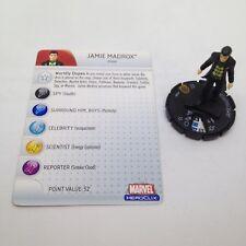 Heroclix Giant Size X-Men set Jamie Madrox #100 Limited Edition figure w/card!