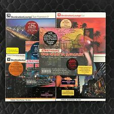 Destination Lounge 24 Hours Dance CD DVD New York Miami Bangkok Compilation