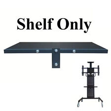 "Adjustable Shelf Tray For Mobile TV Stand Trolley For 32-60"" LED/Plasma/LCD TV"