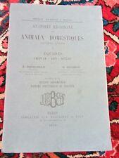 Montané & Bourdelle Anatomie régionale animaux domestiques EQUIDES livre IV 1938