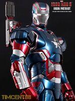 Ready! Hot Toys MMS195D01 Iron Man 3 - Iron Patriot 1/6 Don Cheadle Diecast New