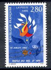 STAMP / TIMBRE FRANCE NEUF N° 2965 ** RAFLE DU VEL D'HIV 1942