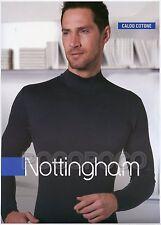 Lupetto Uomo Nottingham Caldo cotone Interlock L - 5 Nero