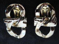 SALVATORE FERRAGAMO made in Italy EARRINGS