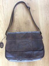 Brown Leather Shoulder Bag New