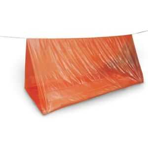 EMERGENCY TUBE TENT / SHELTER - CAMPING CADETS HIKING SAFETY HUNTING
