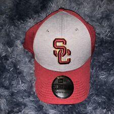 New Era 39Thirty Medium Large USC Trojans Flex Fitted Hat Cap