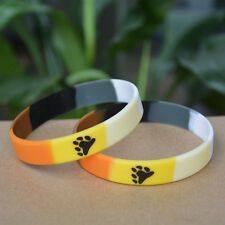 Unisex Gay Bear Pride Silicone Bracelet - Buy 5 Save 25% - Brand New