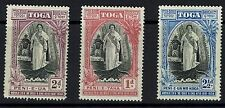 Tonga SG# 71 - 73 - Mint Light Hinged - Lot 041716