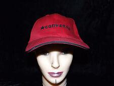Converse baseball cap hat red