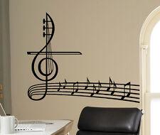 Music Treble Clef Vinyl Decal Vinyl Stickers Home Art Interior Window Sticker 8