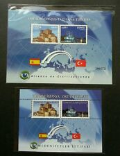 Spain Turkey Joint Issue Alliance Of Civilization 2010 Mosque (ms pair) MNH