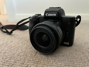 Canon M50 with 15-45mm Lens and Extras - Mint Condition