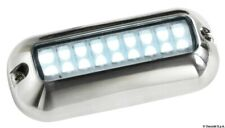 Underwater LED Light - WHITE - Stainless Steel - Waterproof -Boat Marine UWLEDWH